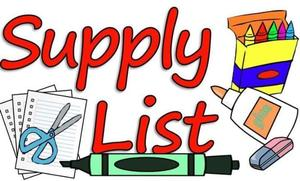 20-21 Supply Lists: PreK-2
