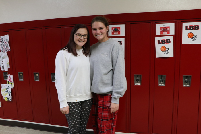 "Sleeping Beauties ""Pajama Day"" at DHS"